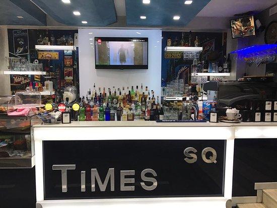 Times square licata corso umberto restaurant avis for Photo ecran times square
