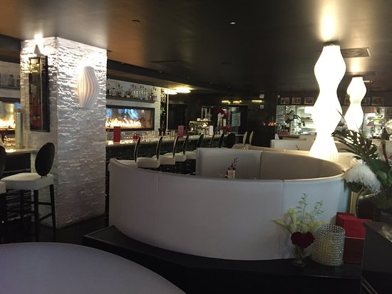 From the entrance looking to the bar and kitchen. - Picture of ...