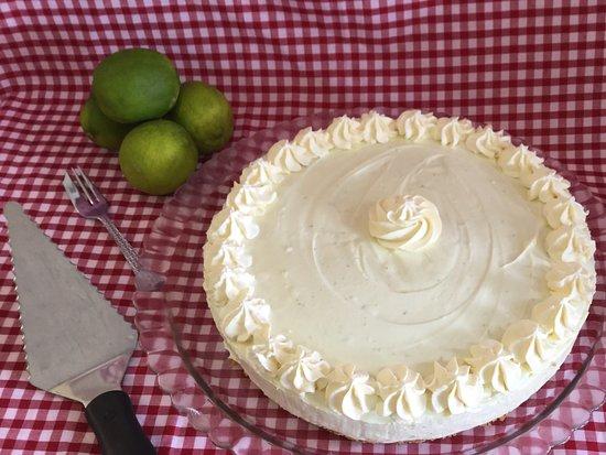 Dunfermline, UK: Keylime Cheesecake, yummmmm