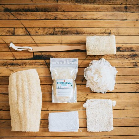Fredericksburg, VA: We offer a wide variety of bath time essentials such as soap sacks and body brushes.