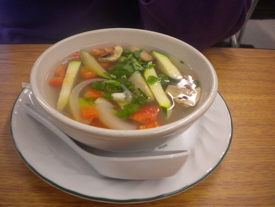 Oxford, MS: Tom Yum Spout [free with lunch special]