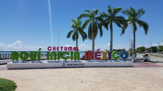 Malecón de Chetumal