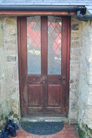 Sithney, UK: The welcoming front door