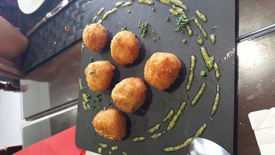 Osuna, España: Comida exquisita y maravillosa....para disfrutar