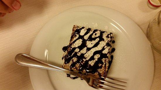 Hotel Etruria: Hubby's Dessert