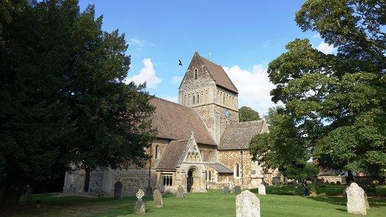 King's Lynn, UK: Castle Rising Village - church