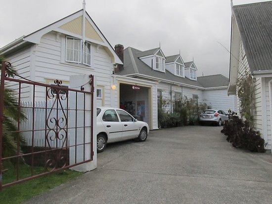 Warkworth, New Zealand: Motel frontage