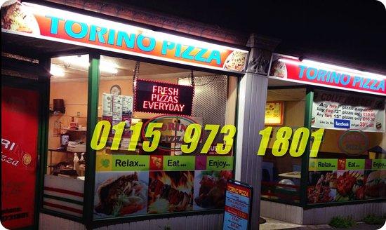 Long Eaton, UK: torino pizzza