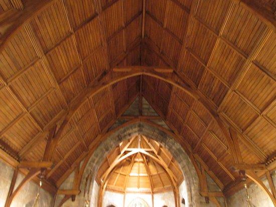 Foxburg, PA: Gothic Ceiling