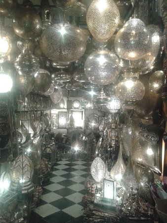 magasin luminaire place jemaa el fna Picture of Riad Wardate Rita