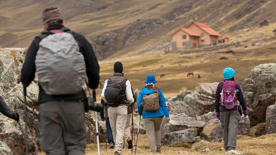 Andean Lodges: On the way to Chillca Lodge