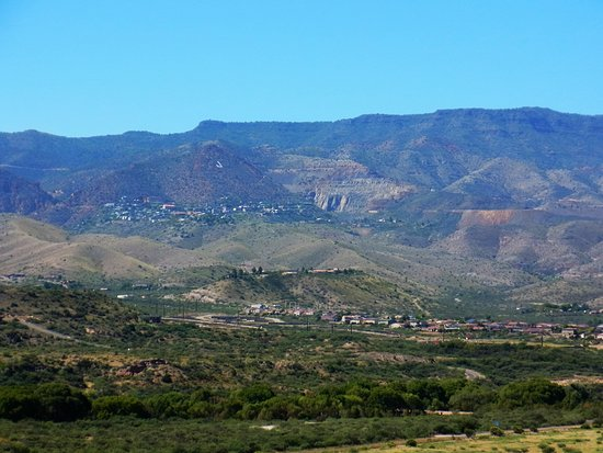 Clarkdale, AZ: view from building site