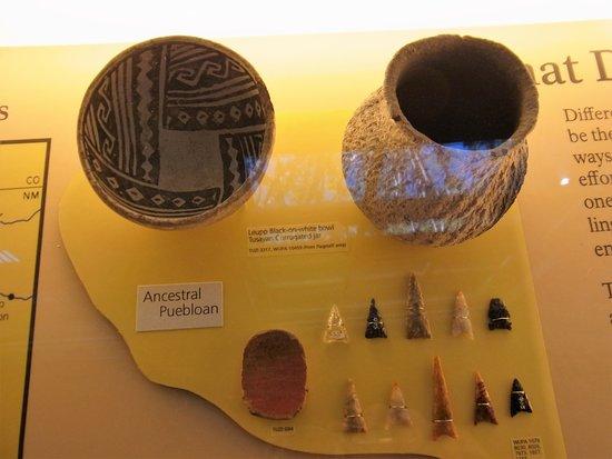 Clarkdale, Arizona: lots of artifacts found
