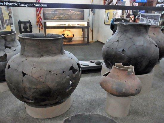 Clarkdale, Arizona: clay pots