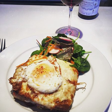 Westport, CT: Awesome Croque Madame! Great Brunch!