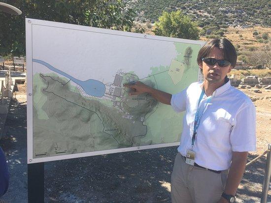 Ephesus Travel Guide - Private Ephesus Tours: Denizhan explained the development of Ephesus through the centuries---Ephesus I, 2, and 3.