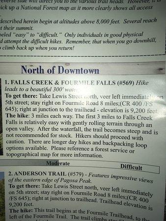 Pagosa Springs, CO: Fourmile Falls Trail