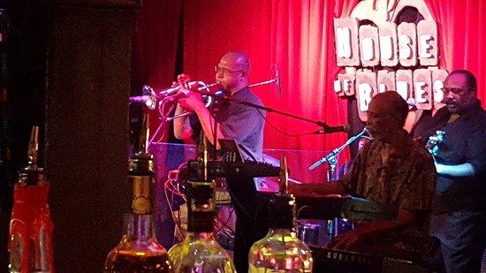 House of Blues Restaurant & Bar Chicago: Banda de Blues.