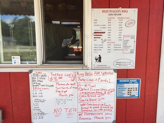 Red Wagon BBQ Menus & Business Hours - 1018 E Magnolia Street, Arcadia FL