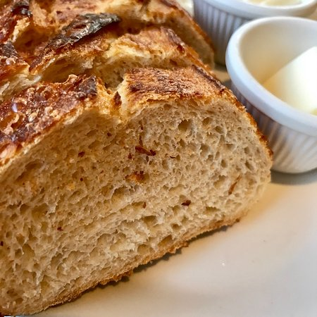 Solana Beach, CA: freshly-baked bread