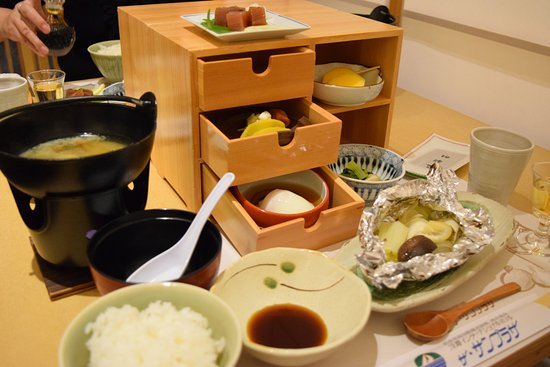 Sumoto, Japón: 朝食