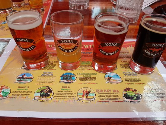 Kona Brewing Company Pub & Brewery : Beer-Flight