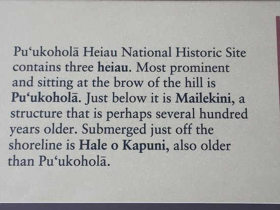 Kawaihae, HI: Puukohola National Historic Park