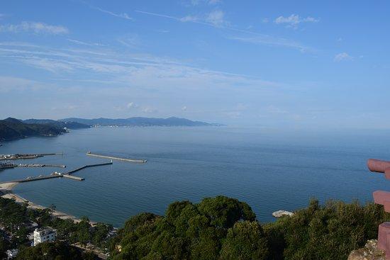 Sumoto, Japón: 淡路島北方から大阪湾の望む
