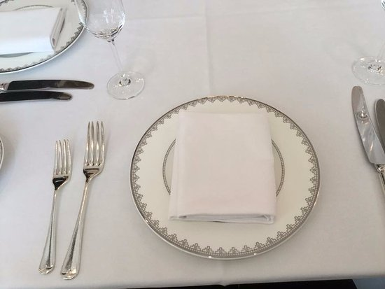 High Tea Place Setting Picture of Raffles Hotel Singapore