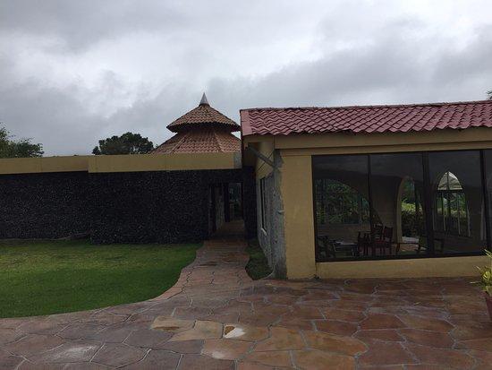 El Castillo, Costa Rica: Mirador techado