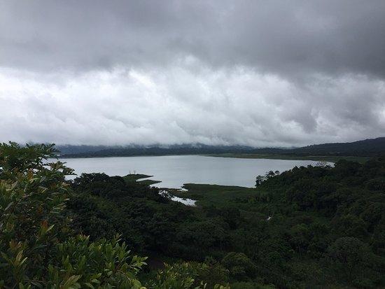 El Castillo, Costa Rica: Lago desde mirador exterior principal