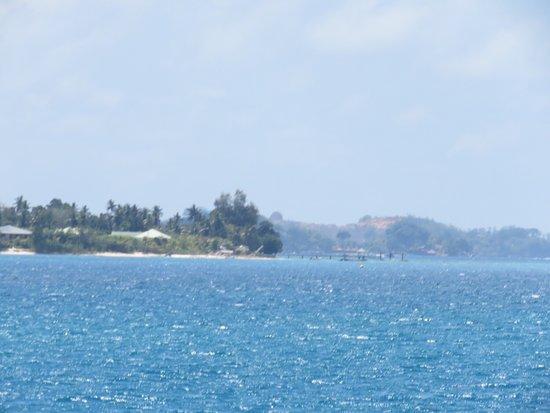Cerf, Seychellerna: Anna ist die Seele des Hauses - lieb, nett und absolut hilfsbereit. Die Küche ist lecker. Tolles