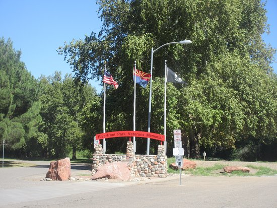 Veterans Memorial, Riverfront Park, Cottonwood, AZ