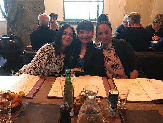 New Plymouth, Yeni Zelanda: Good times with mates!