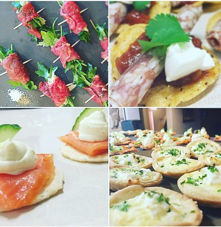 Cromwell, New Zealand: Canapes by Pre-Arrangement