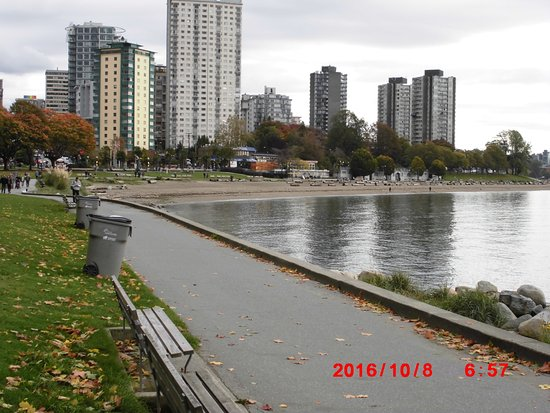 Photo of Beach English Bay Beach at Beach Ave., Vancouver, BC V6G 1Y9, Canada