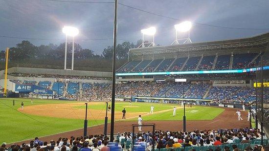 Daegu, เกาหลีใต้: 3rd base line seats