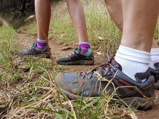 Waimea Canyon: Wear appropriate footwear!