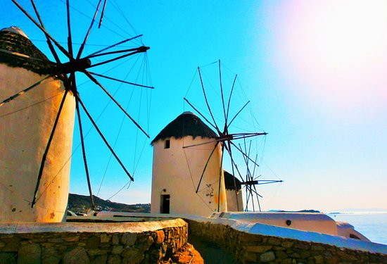Little Rochari: Windmills of Mykonos