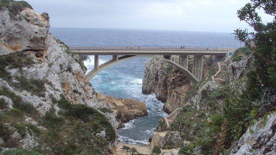 Gagliano del Capo, Italy: Canale del Ciolo.