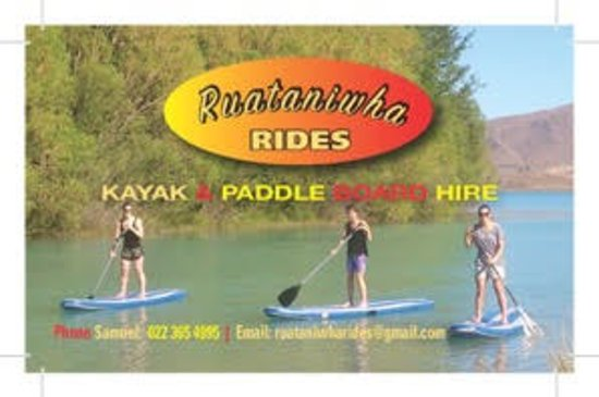 Twizel, Nowa Zelandia: 2016 first logo designs for Ruataniwha Rides cover, profile , card mock ups