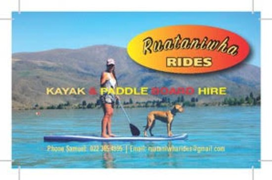 Twizel, Nowa Zelandia: 2016 first logo designs for Ruataniwha Rides another card design