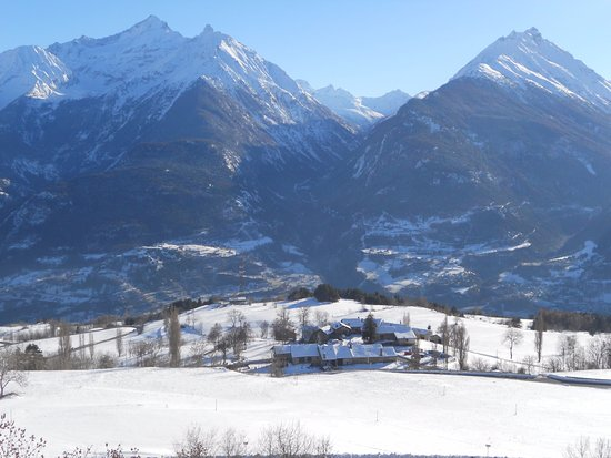 Saint Nicolas, İtalya: il villaggio