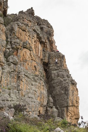 Natimuk, Avustralya: Bishop. A popular two pitch climb