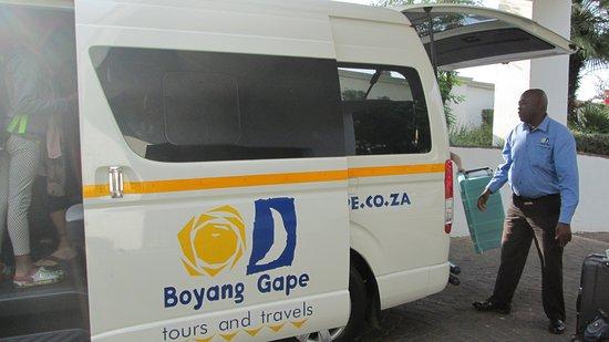Форвейз, Южная Африка: airport shuttle