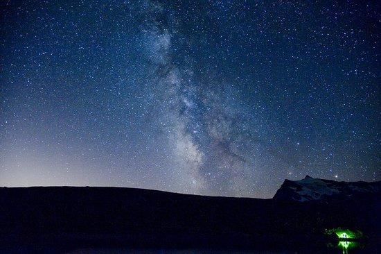 Valsavarenche, Italien: La Via Lattea dal Colle del Nivolet