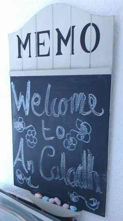 Helensburgh, UK: Our welcome note :)