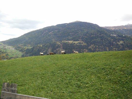 Jerzens, Østerrike: Kleiner Ausblick von unterwegs