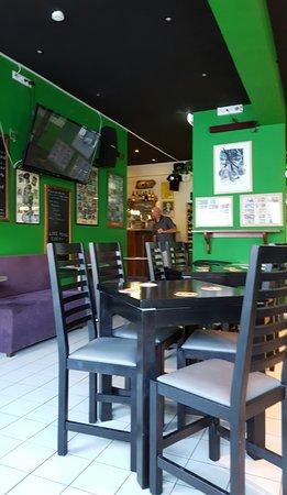 The Shamrock Irish Bar: The Shamrock Irish pub.