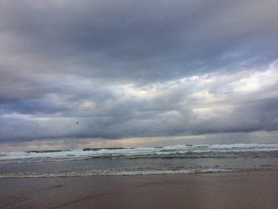 Adraga Beach: Пляж Адриана в октябре. Почти закат!